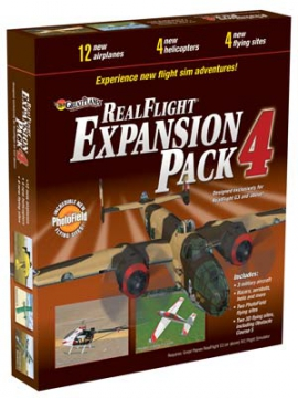 Real Flight G3 Exp.pack 4* SALE i gruppen Fabrikat / R / RealFlight / Simulatorer hos Minicars Hobby Distribution AB (18MZ4114)