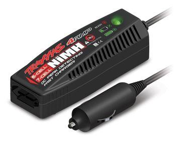 Laddare 12volt 4 amp 6-7cell NiMH Auto ID i gruppen Fabrikat / T / Traxxas / Laddare hos Minicars Hobby Distribution AB (422975)