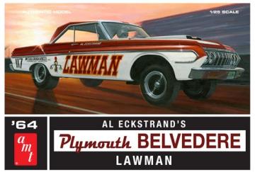 lager1964 Plymouth Belvedere L, Plastbyggsatser