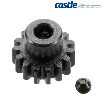 CC Pinion 15T - Mod 1 i gruppen Fabrikat / C / Castle Creations / Pinionger hos Minicars Hobby Distribution AB (CC010-0065-09)