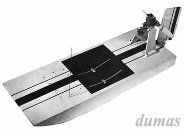 Swamp Buggy Air Boat 711mm Träbyggsats