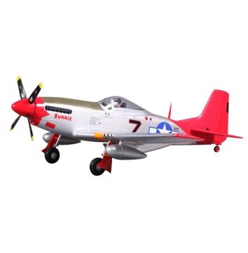 lagerP-51D V2 800 Mini PNP Red, FMS