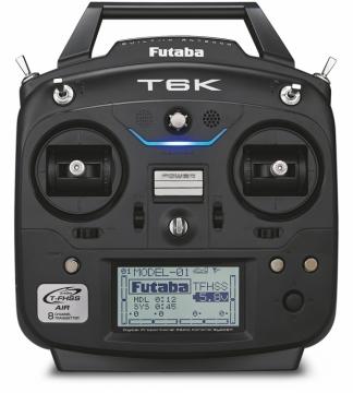 lagerT6K radio set T-FHSS, Futaba