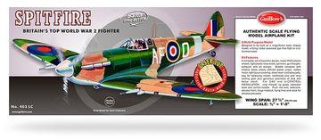 Spitfire model byggsats L, Guillow