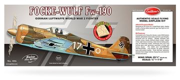 lagerFocke - Wulf Fw - 190 mod, Guillow