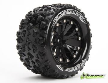 Tire Amp Wheel Mt Spider 2 8 Quot Black 0 Offset 2