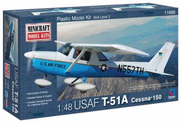 1/48 Cessna 150 T-51A USA, Minicraft