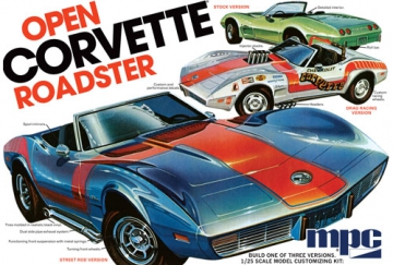 1975 Chevy Corvette Convertible 1/25 i gruppen Fabrikat / M / MPC / Plastbyggsatser hos Minicars Hobby Distribution AB (MPC842)