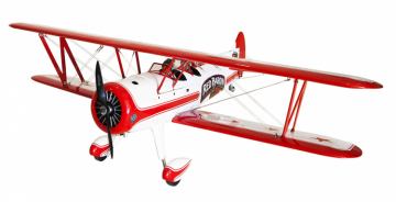 Red Baron Pizza Squadron Stearman 20cc Gas ARF i gruppen Fabrikat / S / Seagull / Flygplan hos Minicars Hobby Distribution AB (SEA277)