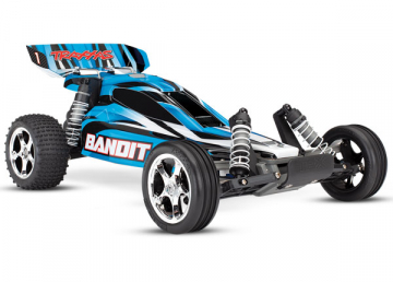 Bandit 2WD 1/10 RTR TQ Blue - With battery/charger in the group Brands / T / Traxxas / Models at Minicars Hobby Distribution AB (TRX24054-1-BLU)