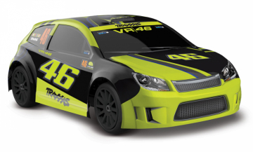 Rally 1/18 4WD RTR VR46 LaTrax i gruppen Fabrikat / T / Traxxas / Modeller hos Minicars Hobby Distribution AB (TRX75064-1)