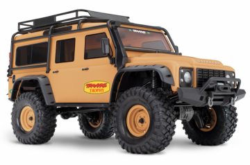 TRX-4 Scale & Trial Crawler Land Rover Defender Tan RTR i gruppen Fabrikat / T / Traxxas / Modeller hos Minicars Hobby Distribution AB (TRX82056-4-C)