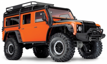 TRX-4 Scale & Trail Crawler Land Rover Defender Orange RTR i gruppen Fabrikat / T / Traxxas / Modeller hos Minicars Hobby Distribution AB (TRX82056-4-OR)