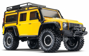 TRX-4 Scale & Trail Crawler Land Rover Defender Gul RTR i gruppen Fabrikat / T / Traxxas / Modeller hos Minicars Hobby Distribution AB (TRX82056-4-YLW)
