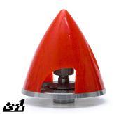 Spinner 45mm Röd 4mm axel