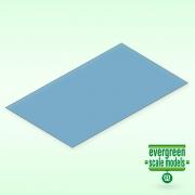 Blå transparent