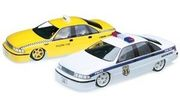 1:10 Chevy Caprice kaross#