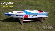 Leopard V-Båt i glasfiber