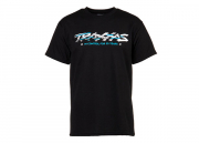T-shirt Black Traxxas-logo Sliced L