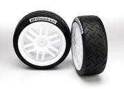Hjul, däck limmat på fälg
