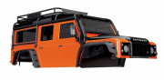 Kaross Land Rover Defender Orange Komplett