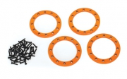 "Beadlock Ringar 2.2"" Alu Orange (4)"