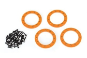 "Beadlock Ringar 1.9"" Alu Orange (4)"