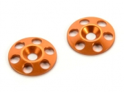 Shims för vinge alu orange (2)