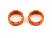 Shims Alu Orange för styrarm (2)