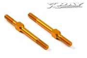 Turnbuckles alu M3 x 39 mm orange