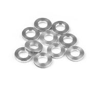 Shims set alum 3x6x1mm (10)