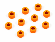 Shims set alum 3x6x3.0mm Orange (10)