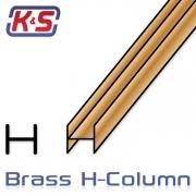 Mässing H-Profil 305x3.13