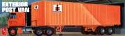 Fruehauf Exterior Post Van Trailer 1/25*SALE
