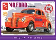 1940 Ford Coupe - Orange - 1/25