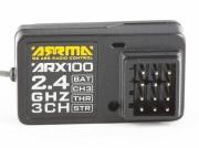Mottagare ARX100 3-kanal