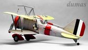 Curtiss F9C-2 Sparrowhawk 762mm Träbyggsats#