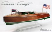 1940 Chris-Craft Barrel Back 724mm Träbyggsats