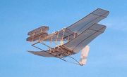 Wright Flyer Flygande Drake 1473mm Träbyggsats