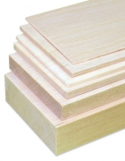 Balsa Sheet 2.5 x 100 x 1000 mm