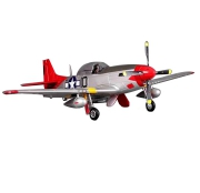 P-51D V8 Red Tail 1440mm spv