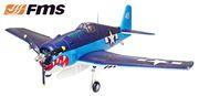 F6F 1400 PNP EPO FMS Blå*