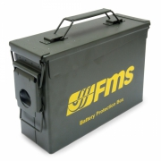 Batteri Säkerhetslåda Lit