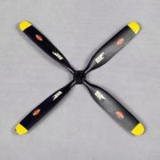 Propeller 7.5x4 4-bladig