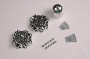 Spinner P47 silver 1700 set