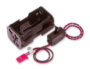 Batterihållare strömbryt