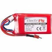 Li-Po Batteri 3S 11,1V  6