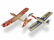Super Hero Twin Pack Balsa Glidflygplan (24+24)