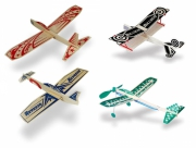 Super Hero Balsa Glidflygplan Sortiment (12+12+12+12)