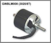 Motor borstlös 3020/8T 84
